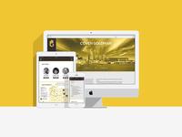 Coven Goldman website redesign
