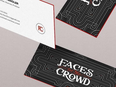 Rock musician business card by alex coven dribbble rock musician business card colourmoves
