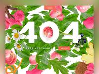Floral 404 Flor-oh-four