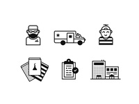 Children's Hospital Icons