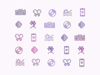 Album Artwork Icon Set
