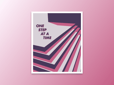 One Step At A Time c4d