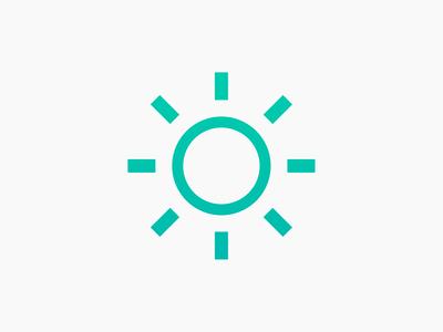 Sun Icon music song sun gradient icon design logo design icon logo song of the day