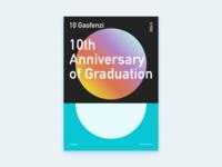 Poster Design–10th Anniversary