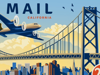 US Postage Air Mail