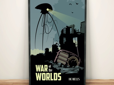 War of the Worlds Poster Design