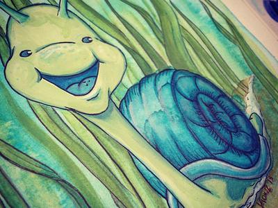 Seymour Snail detail