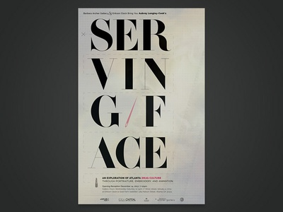 Serving Face Poster