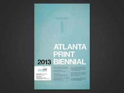 Atlanta Print Biennial Poster