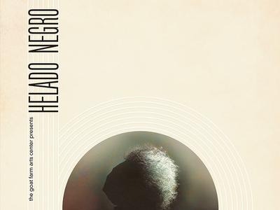 Helado Negro gig poster