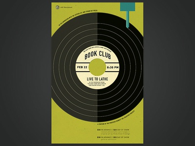 Book Club - Live to Lathe