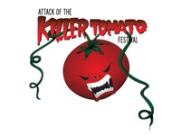 Attack of the Killer Tomato Festival Logo