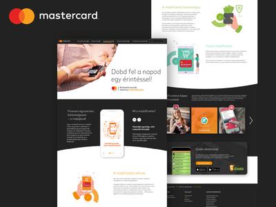 Mastercard Landing Redesign Concept - 1
