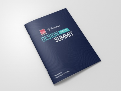 Design Summit - Event Brochure digital offset printing press design summit catalogue design event branding print design calendar event brochure