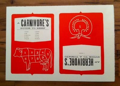 Precut Letterpress Print letterpress hellenic wide spartan beef tomato warm red