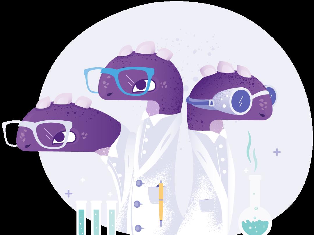 Ziggy Scientist chemistry akeneo hydra ziggy illustrator illustration scientist