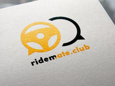 Ridemate Club logo ride mate club car logo drive