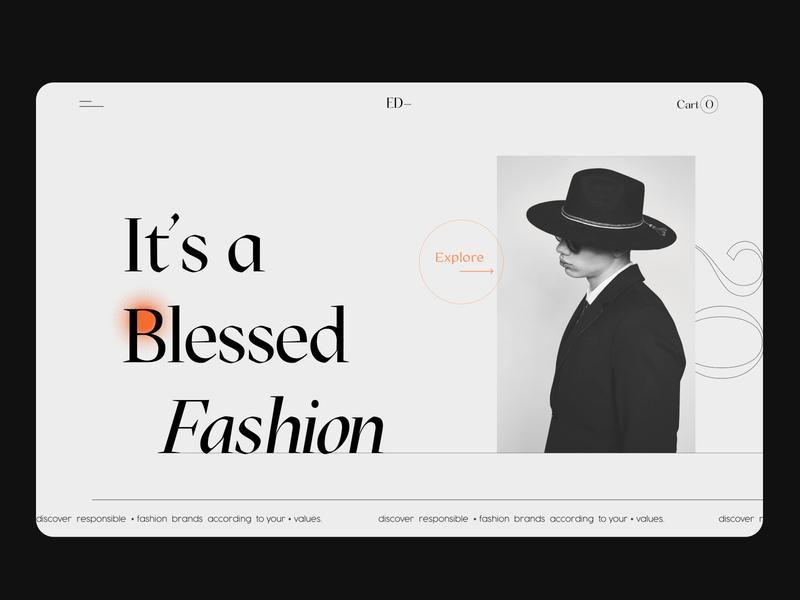 Website design concept for a fashion brand color photography website design web design webdesign website clothing brand fashion brand ui design uidesign ui  ux ui ux uxui uiux editorial layout editorial design editorial art editorial fashion