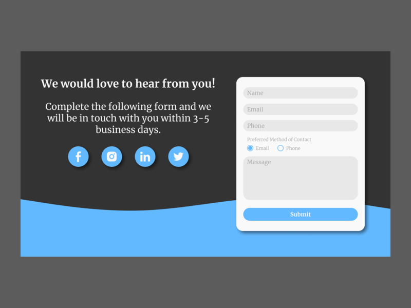 Daily UI Challenge. Day 028/100 user interface design user interface daily ui figma daily 100 challenge feedback form feedback form field forms form design form contact us page contact page contact form contact us contact