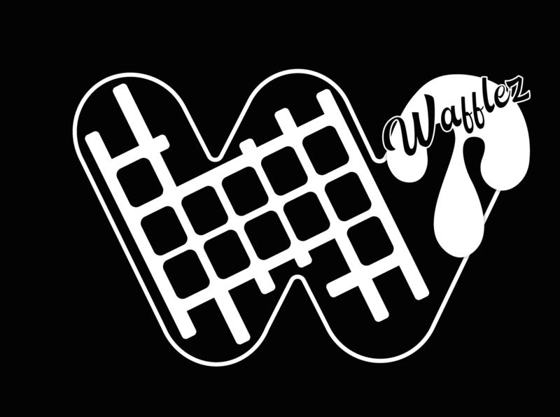 Logo Wafflez marketing digital illustration vector marca logo design graphic design creative illustrator diseño gráfico