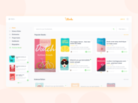 UBouks - Book Store Website Design