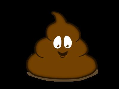 Poop cartoon_Brown
