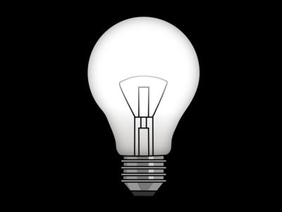 Lightbulb graphic