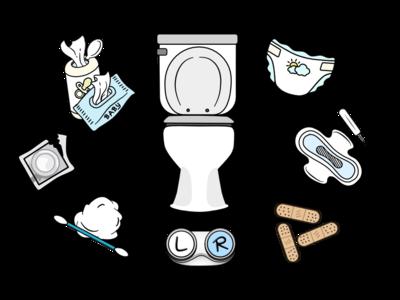 """Toilet septic system PSA """"Do Not Flush"""""""