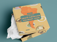 Food Flight Culinary Travel Sweepstakes Visual Identity