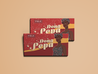 Mock Re-design of Visual Identity for Doña Pepa