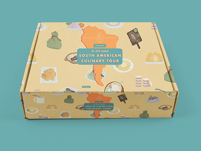 Food Fight South American Culinary Tour Sweepstakes Box