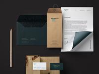 Donal Brush, logo &idenity