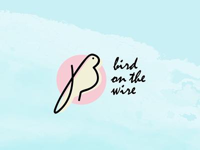 BOTW - Logotype bird illustration bird logo bird icon branding and identity lyon shop concept store logodesign logo branding