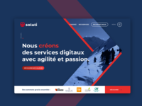 Soluti agency - website