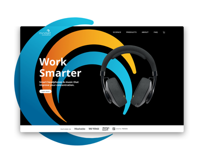 Mindset website ui design ux design branding headphones branding headphones website headphones audio website music website music webdesign website mindset