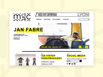 MAC Lyon - Website