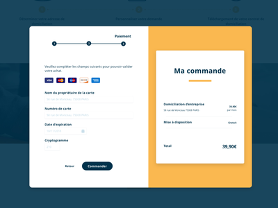 Payment Pop-In webdesign ui design lucile foraison payment app payment