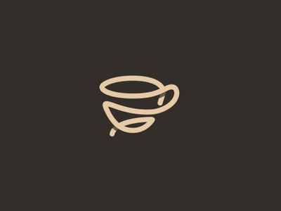 line logo design نشانه لوگو creative logo persian logo abstract logo coffee logo cup modern minimal logo identity line logo brand logo logo