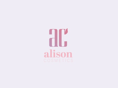 Alison Cosmetics Logo Final