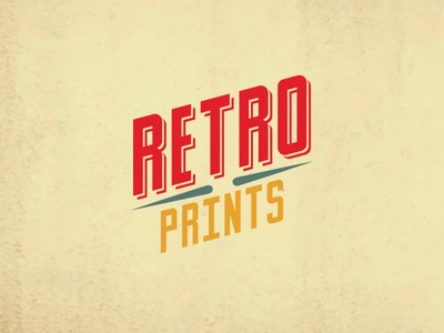 Retro Prints - Logo Core