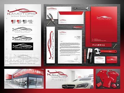 Kamotors / 2014 france paris print accessoires logotype graphic design charte graphique