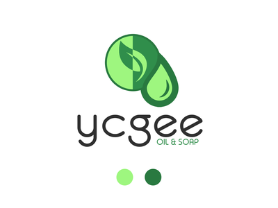 Logo : Ycgee photos illustrator branding logo design