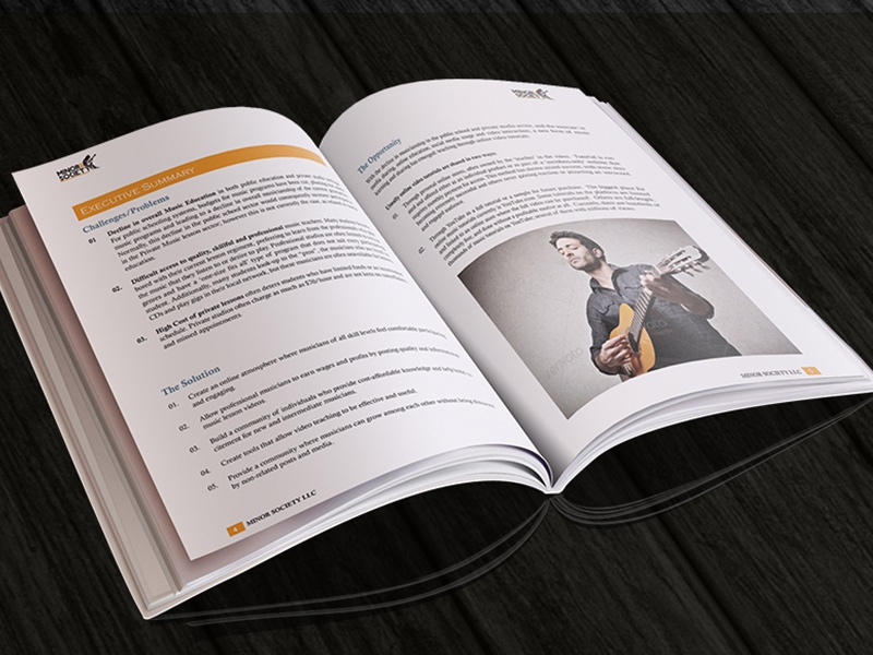 Business plan designer