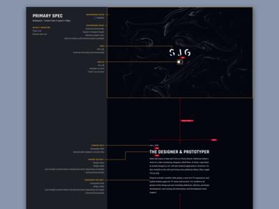 Portfolio Web Spec