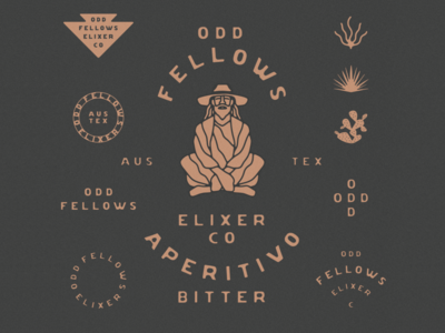 Odd Fellows Elixer Co. Branding
