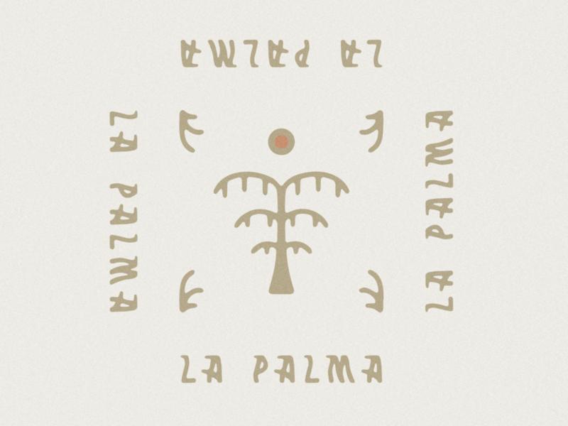 La Palma typogaphy typeface type mexico jamescoffman branding lockup font design logo illustration