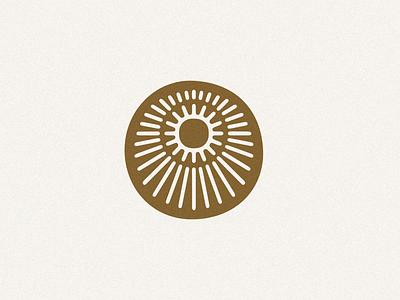 Minimal Sun Design color graphic design minimalsit mexican mexico desert solar logos contemporary simple minimal modern sun jamescoffman branding lockup font logo illustration design