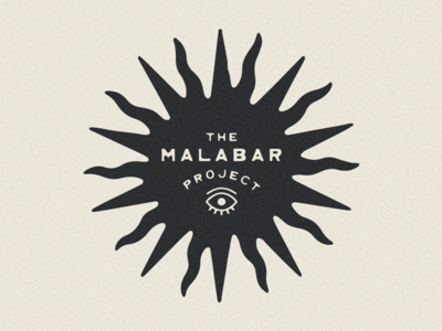 Logo for The Malabar Project west typeface type design type southwestern southwest typography old west minimal mexico mexican logo lockup landboys land jamescoffman illustration font design branding