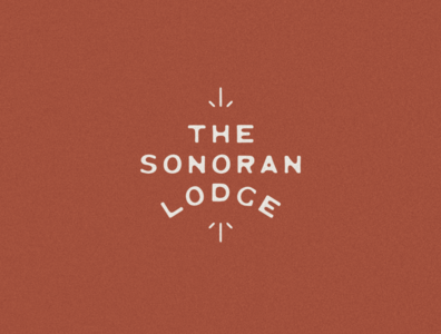 The Sonoran Lodge Logo & Branding southwest mexico mexican logo lockup jamescoffman illustration font design branding