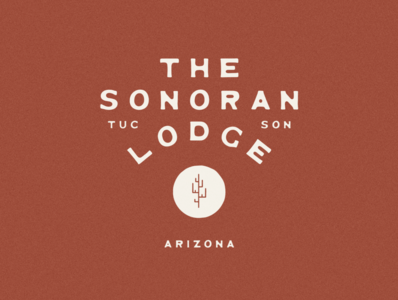 The Sonoran Lodge Logo & Branding southwestern old west mexico jamescoffman logo lockup illustration font design branding
